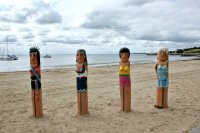 Eastern beach bollards