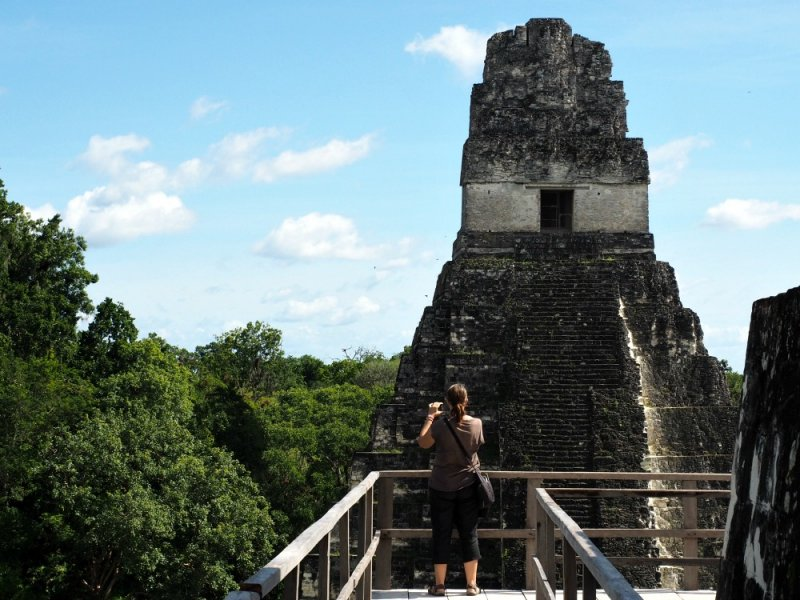 taking Tikal Images
