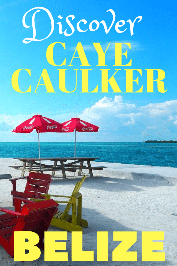 Caye Caulker Belize Pin