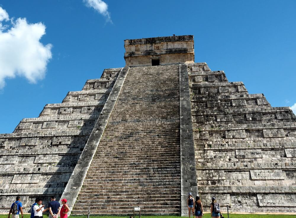 Temple of Kukulcan at Chichen Itza
