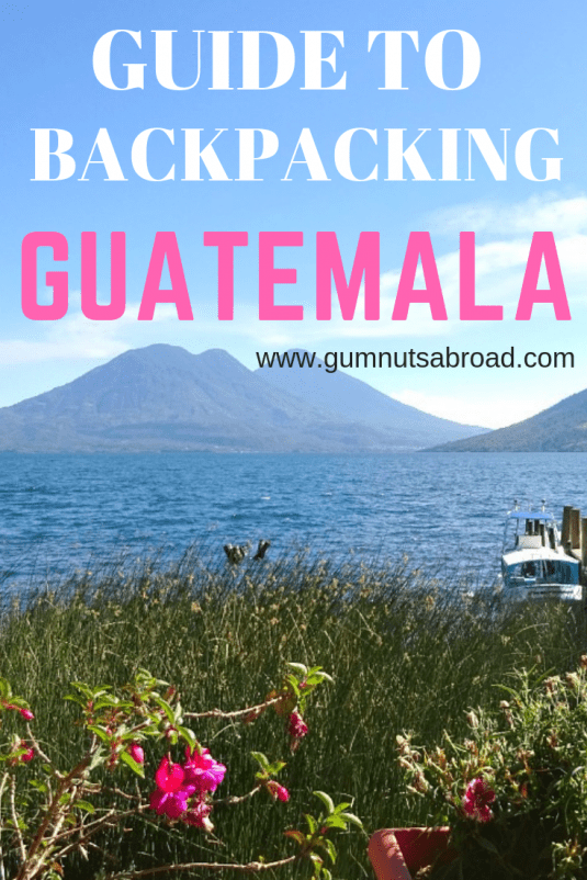 Guatemala Backpacking Pin