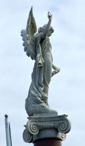 Things to see in Warrnambool: the Dirty Angel statue
