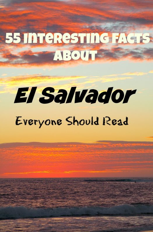 Facts About El Salvador Pin