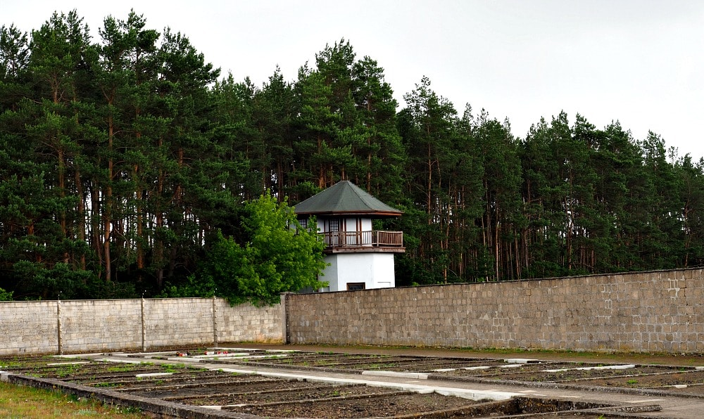 Guard tower Sachsenhausen Concentration Camp