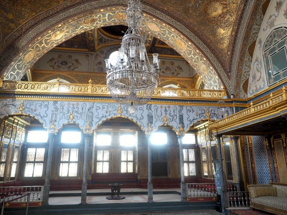 A chamber in the Harem of Topkapi Palace