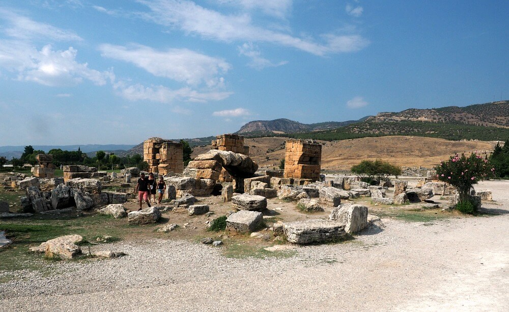 Ancient ruins of Hierapolis