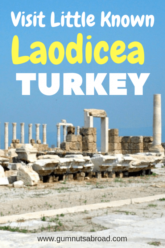 Laodicea Turkey Pin