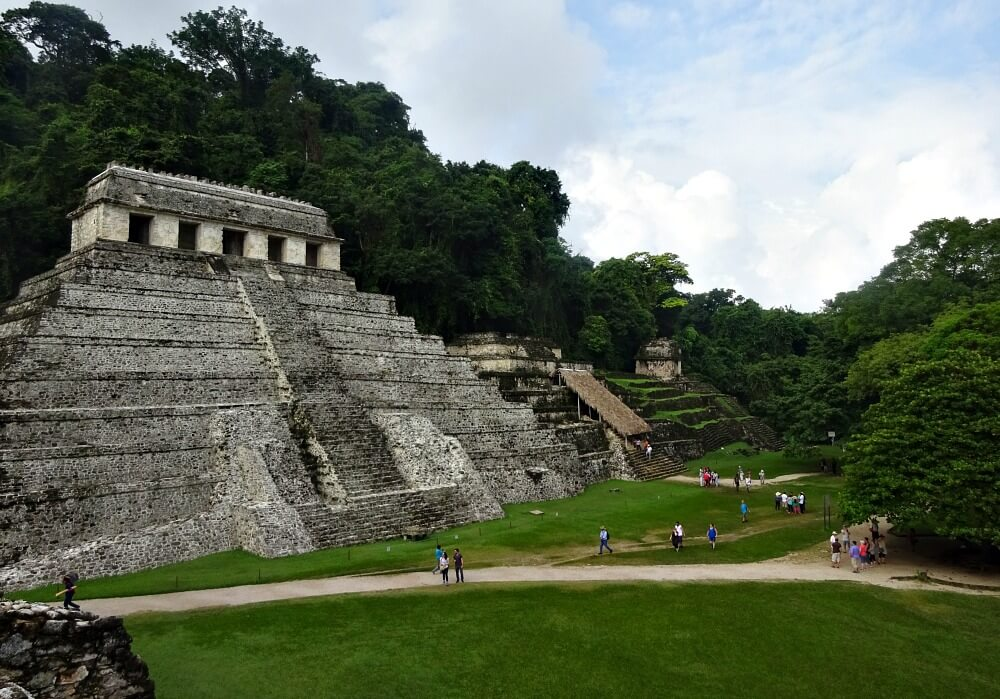 Temple of Inscriptions-archeological sites in Mexico