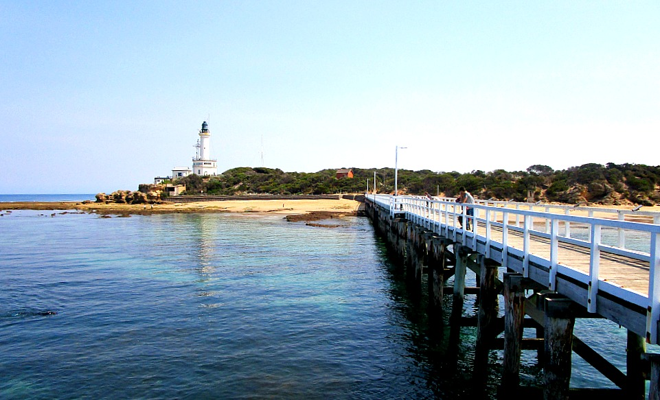 Point Lonsdale Lighthouse and pier