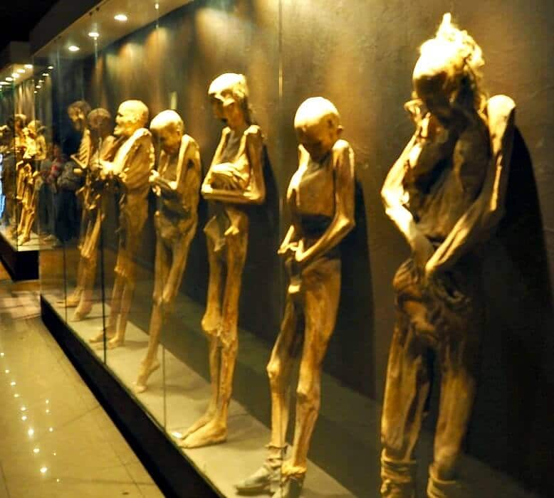 Mummies in Mummy Museum
