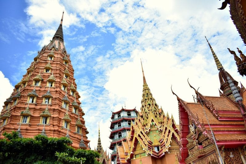 Kanchanaburi tourist attractions - Ketkaew Prasat Chedi