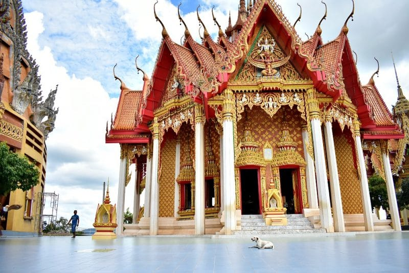 Places to visit in Kanchanaburi - Wat Tham Sua