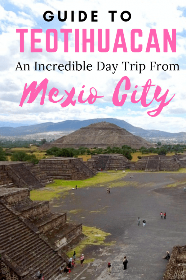 Teotihuacan Mexico City Pin