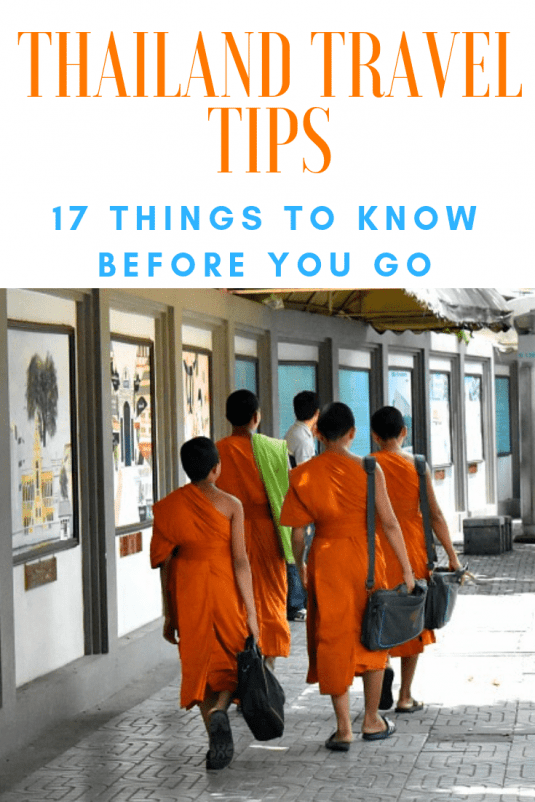 Thailand Travel Tips Pin