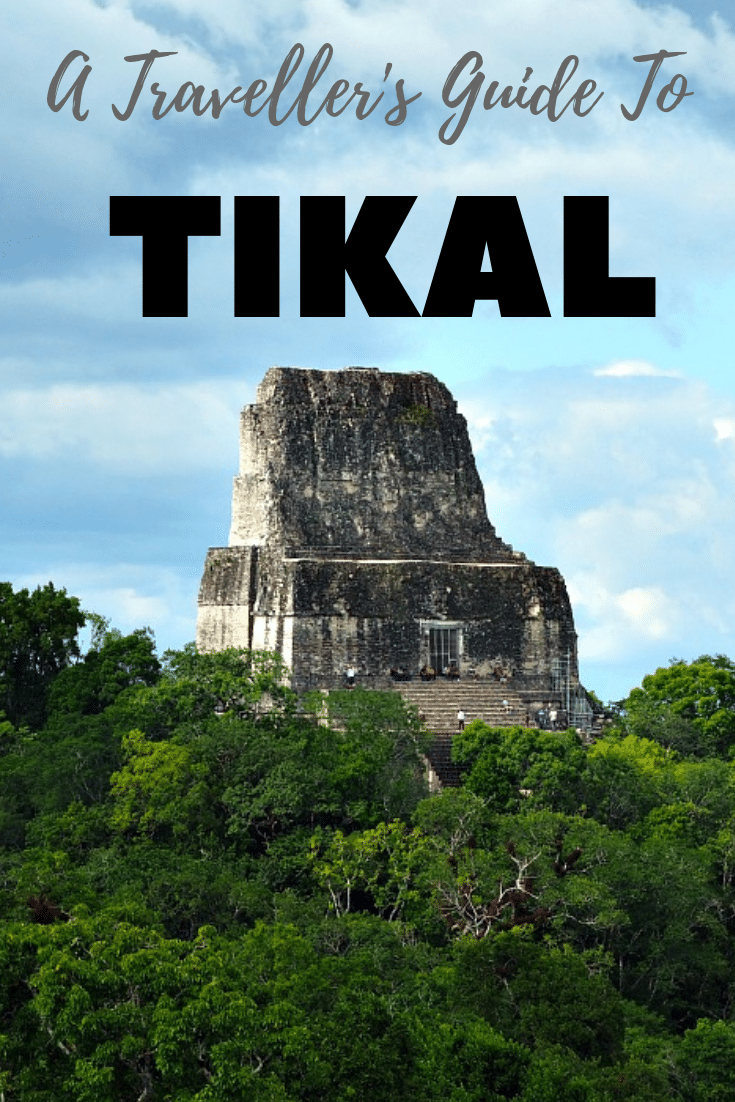 Guide To Tikal Pin.