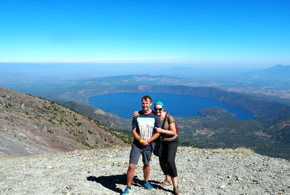 Taking a sabbatical-volcano climbing