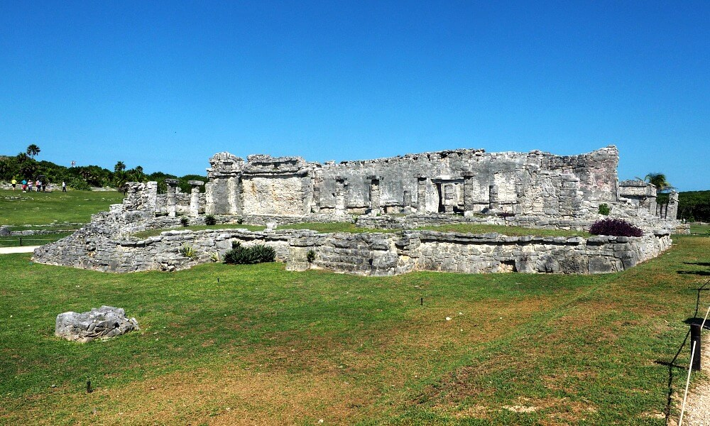 The Palace ruins at Tulum