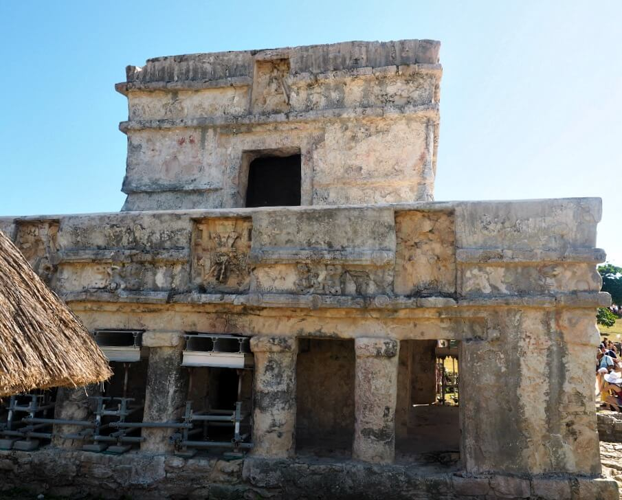 The Temple of the Frescoes Tulum ruins