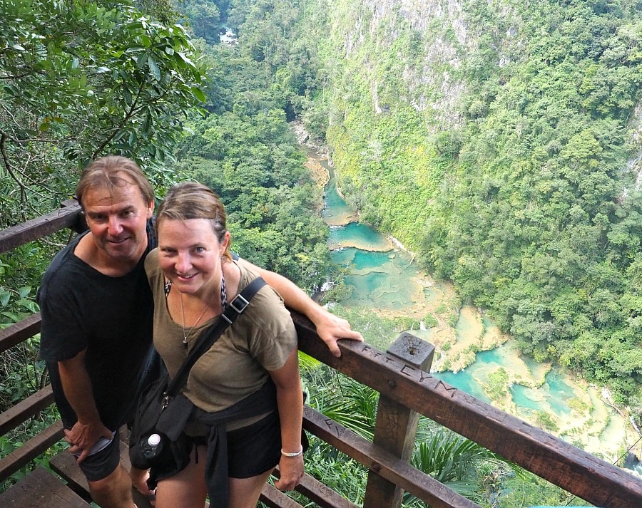 Us at Semuc Champey