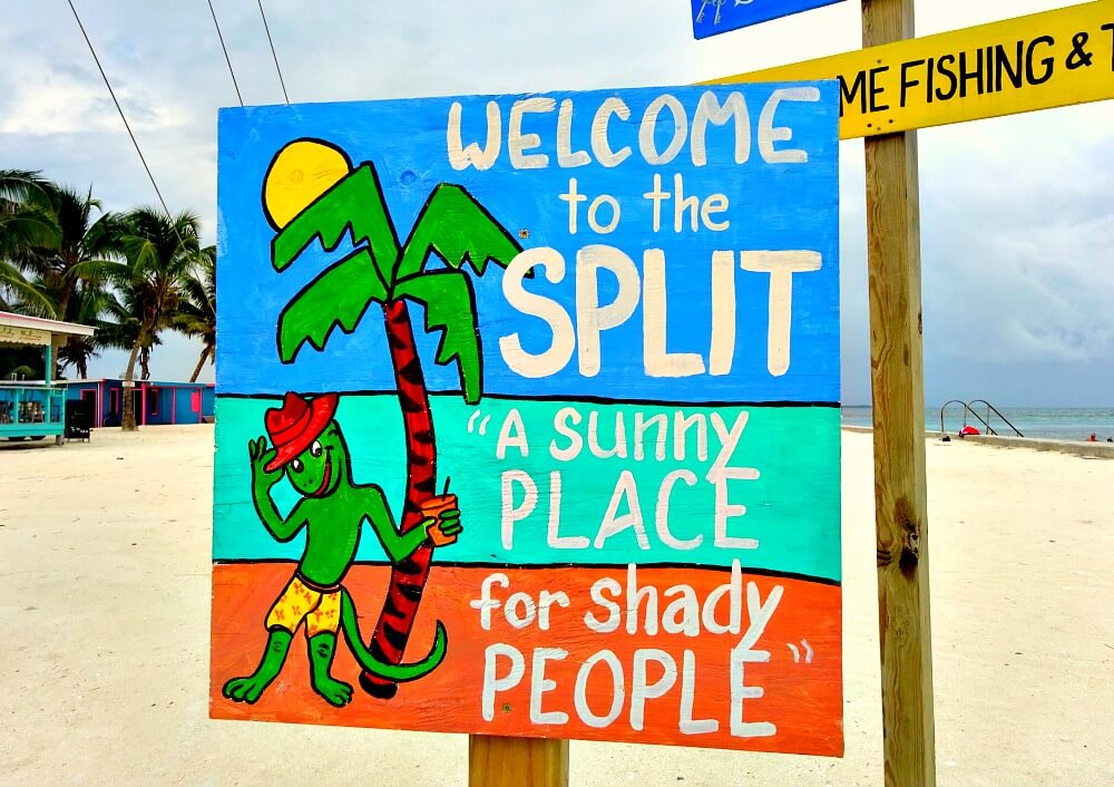 Welcome to the Split sign