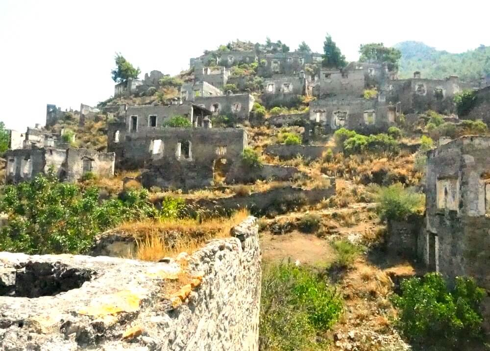 The ghost town of Kayakoy