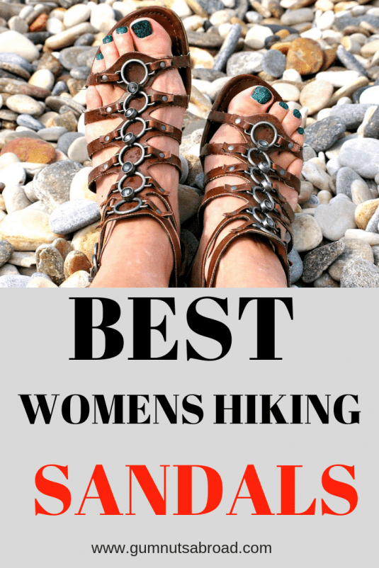 Best Hiking Sandals Womens Pin